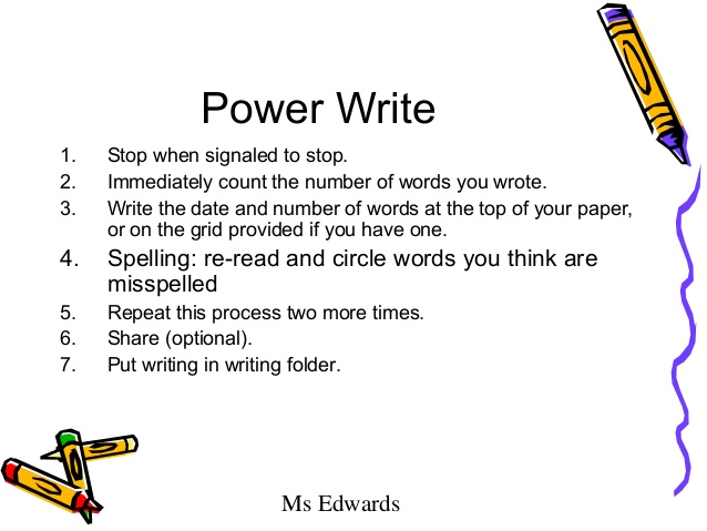 power words for essay writing Creating powerful prose requires killing off the words  even if we're applying those standards to examples of fiction writing within the essay.