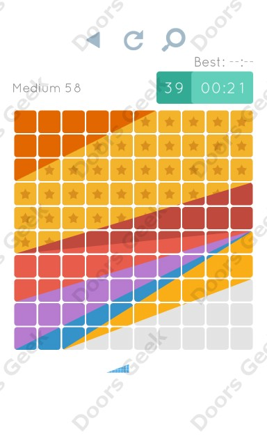 Cheats, Walkthrough for Blocks and Shapes Medium Level 58