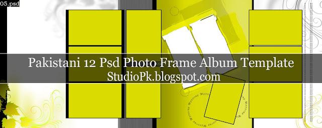 12 Psd Photo Frame Album Design