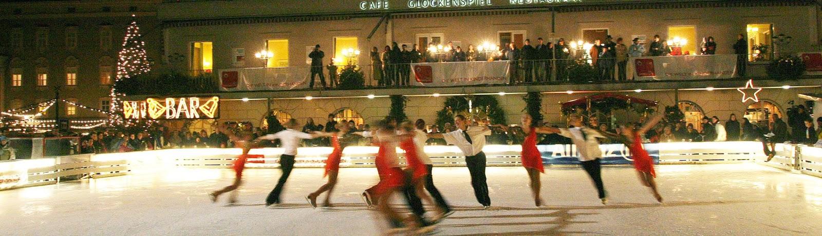 Mozarteis, Salzburg, Eishockey Charity, Sweet Mozart, Event konzept, Mozartplatz