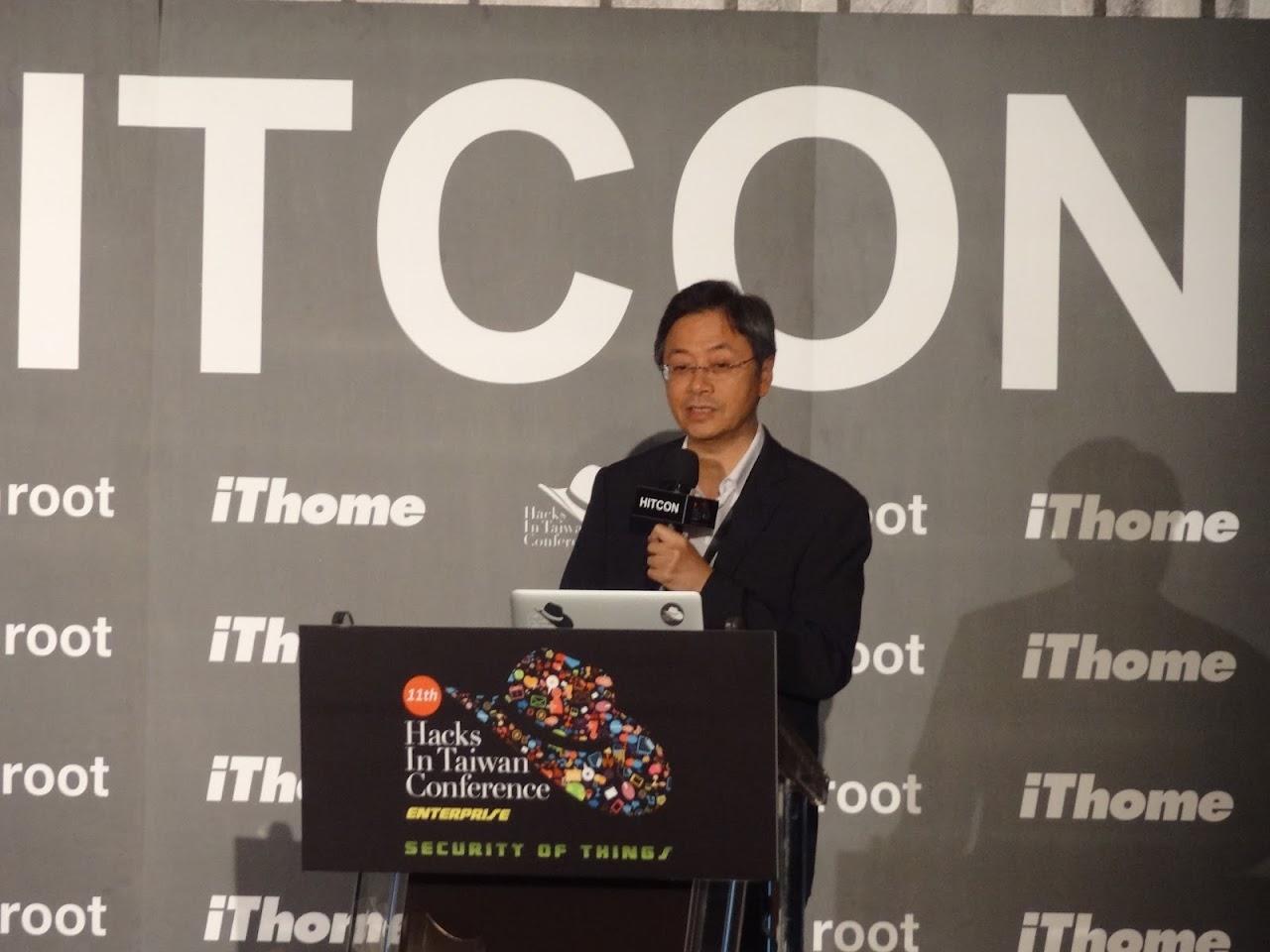 張善政:政府有點慚愧,過去未支持台灣資安人才