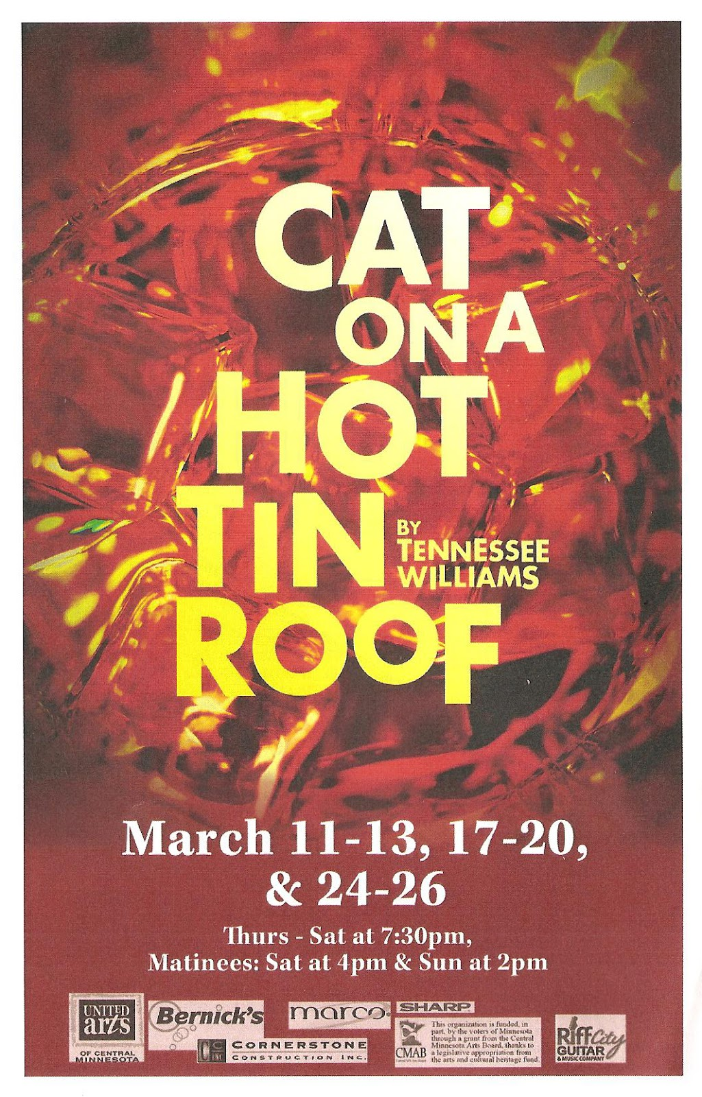essay on cat on a tin roof in theatre Cat on a hot tin roof essay every theatre group to this american playhouse presentation of brothers vying for cat on a hot tin roof org tides theatre presents cat on a hot tin roof for each other movies subtitles.