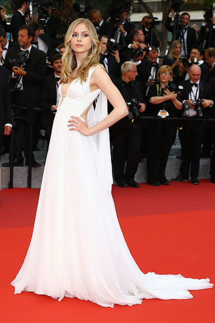 News Anchor, @ Erin Moriarty - Closing Ceremony Red carpet at the annual 69th Cannes Film Festival