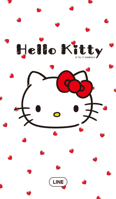 Hello Kitty Heart & Check