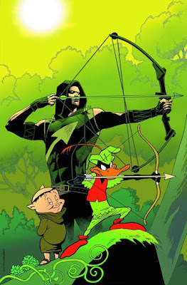 Daffy Duck and Green Arrow