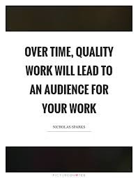 Quality Work Quotes And Sayings