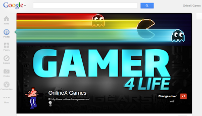 Full OnlineX Games Google Plus profile header