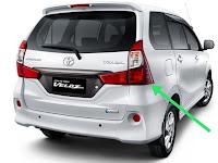 Harga Dan Fisik Stoplamp Toyota Grand Veloz