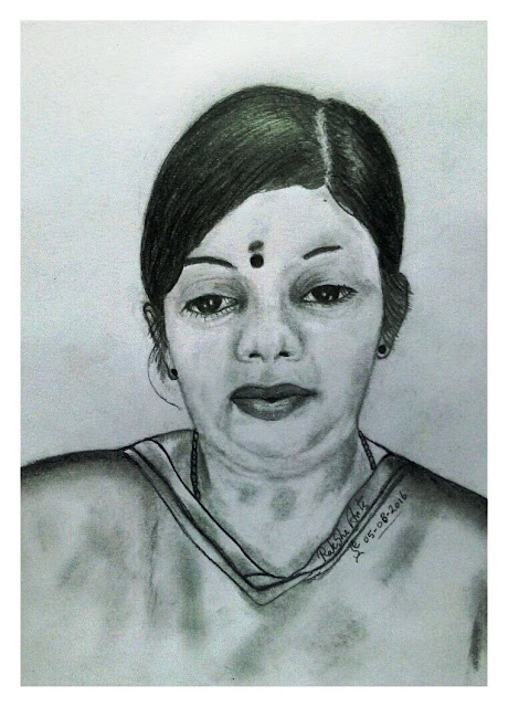 PENCIL DRAWING - DEVI NADESAN