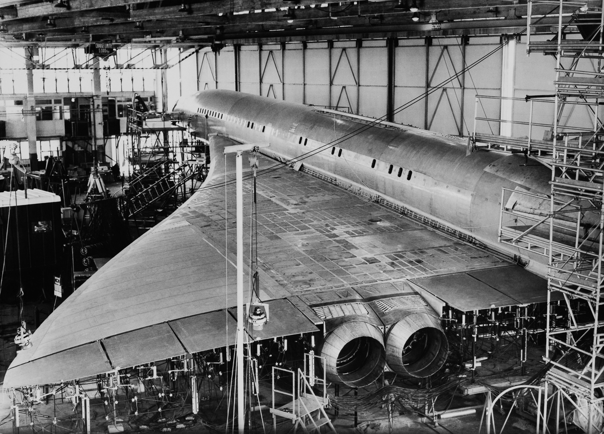 Rare Black And White Photographs Show Concorde The World