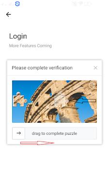 verifikasi gambar di aplikasi ExBuzz