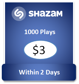 1000 buy Shazam Plays Cheap