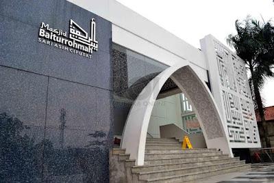 Masjid Baiturrohmah RS Sari Asih Ciputat Tangerang