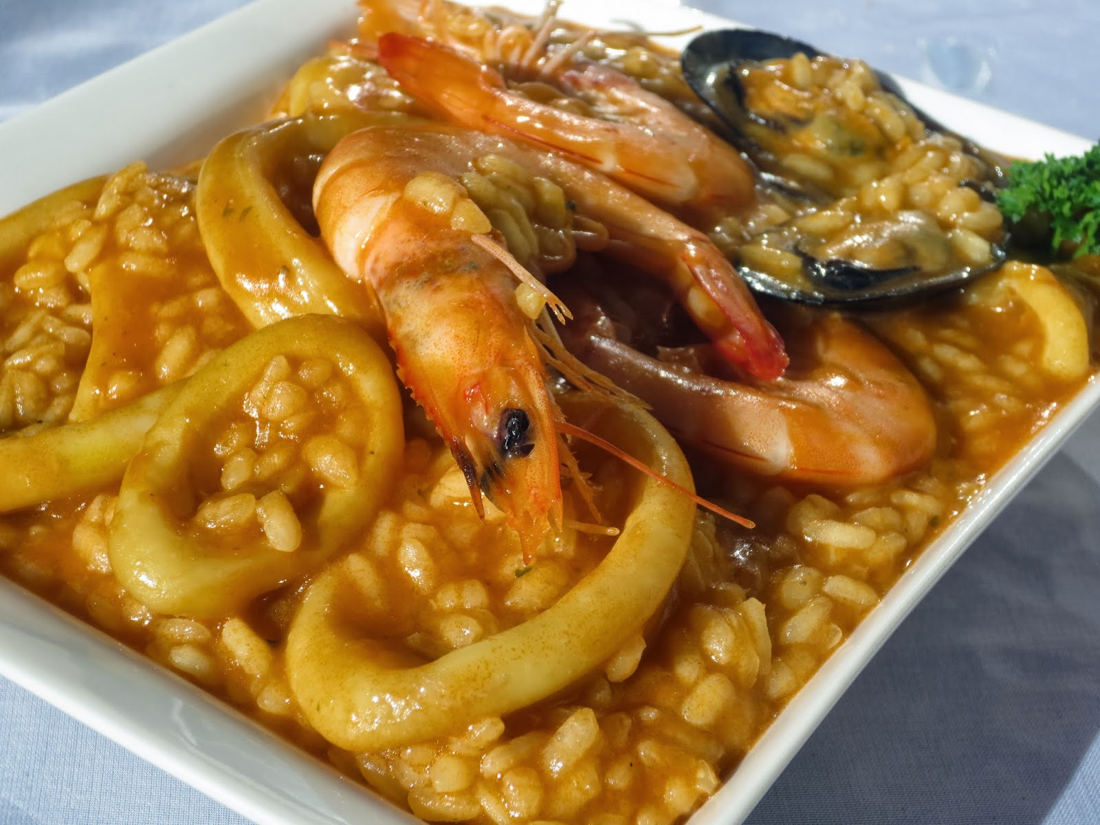 receta arroz caldoso pescado thermomix
