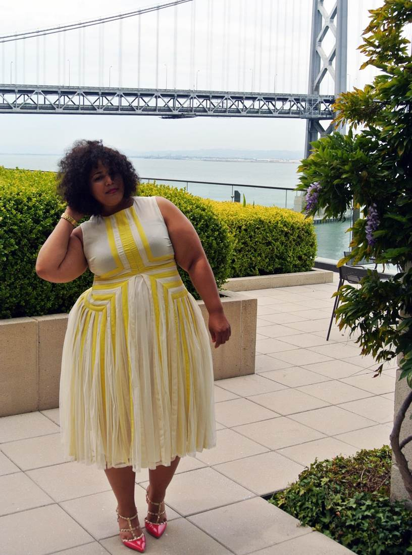"ASOS Curve Dress, Torrid ""Valentino Rock Stud"" Shoes"