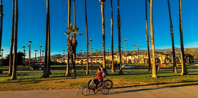 O que fazer na East Beach em Santa Bárbara