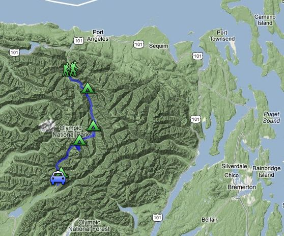 Press Expedition Trail Elwha To Quinault