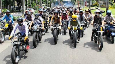 Lestarikan Batik dengan Riding Bareng di Batik Culture Ride 2017