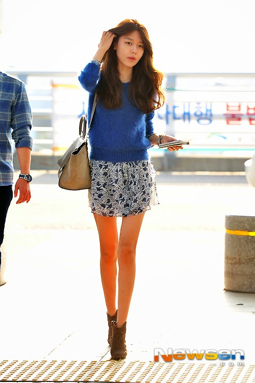 snsd sooyoung airport fashion official korean fashion