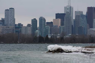 Toronto Hides Behind The Islands..