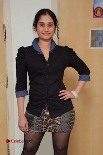 Telugu Actress Priyanka Pallavi Stills in Micro Mini Skirt at Nenosthaa Movie Song Launch at Radio City  0013.JPG