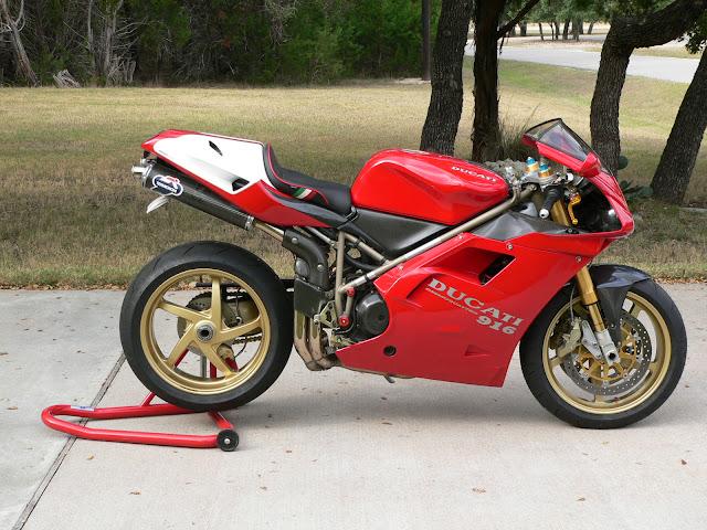 Ducati 748SP Tail look