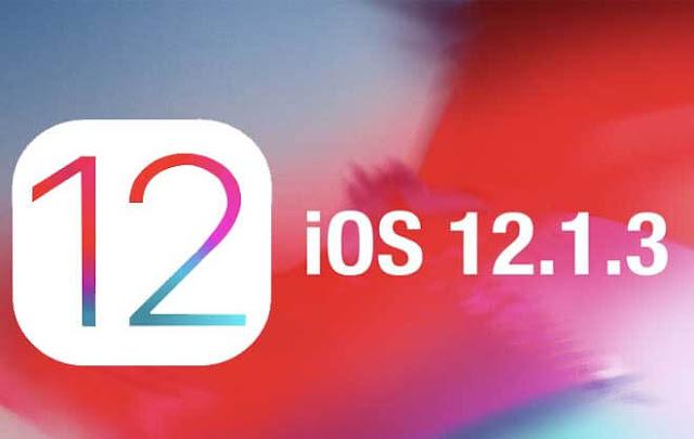 شركة آبل تطرح تحديث نظام IOS 12.1.3 لإصلاح أخطاء الآيفون والآباد