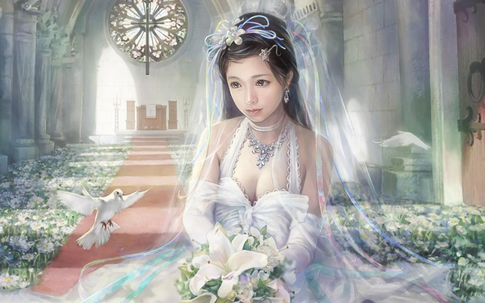 beautiful girl fantasy wallpaper - photo #29