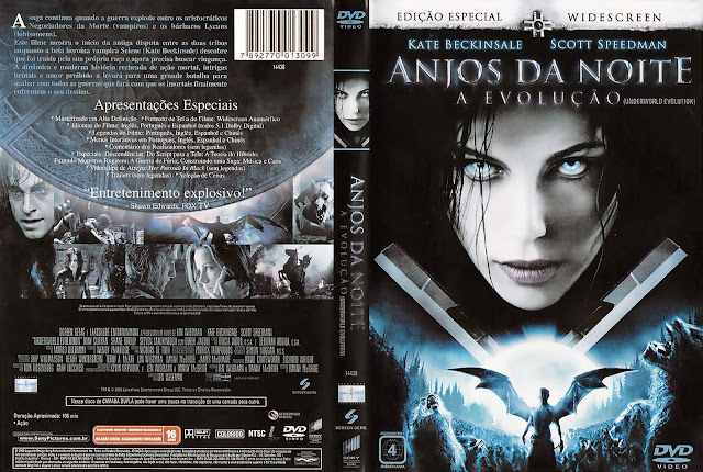 Capa DVD Anjos da Noite A Evolução