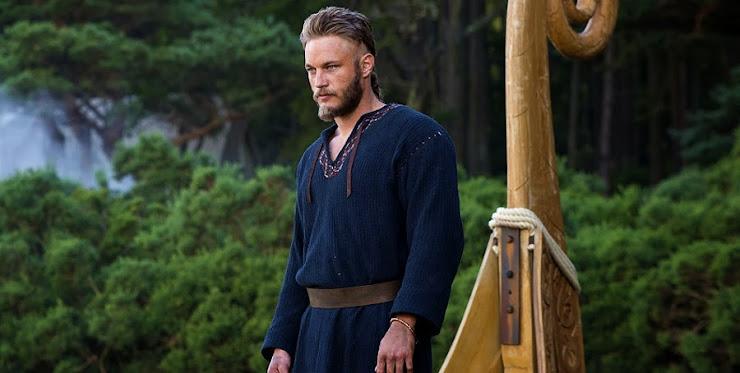 Travis Fimmel în serialul Vikingii