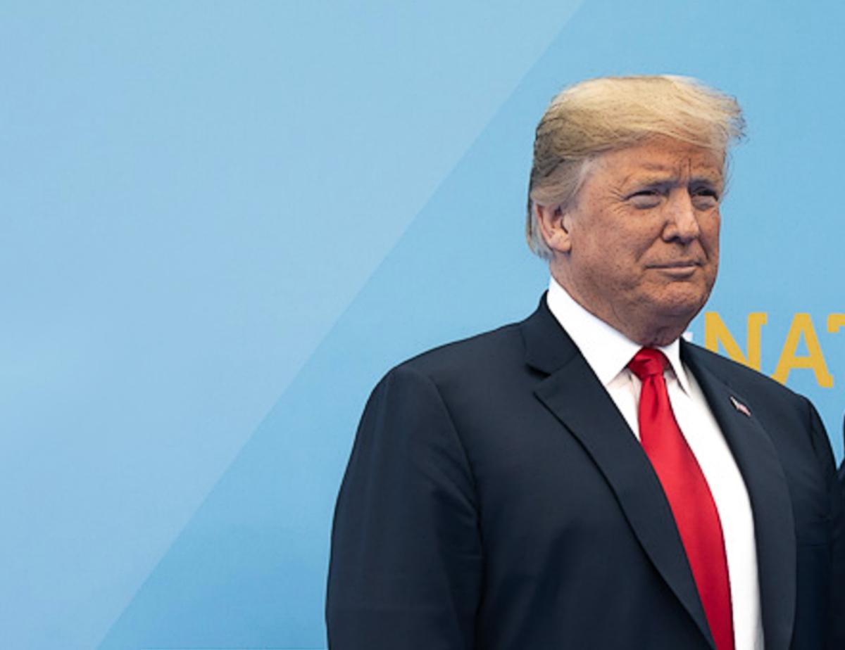 President Donald Trump at NATO summit hope chance audacity