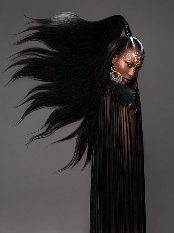 British Hair Awards 2016: Esta impresionante colección afro se convirtió en un finalista y es obvio por qué