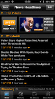 Bloomberg App for Iphone