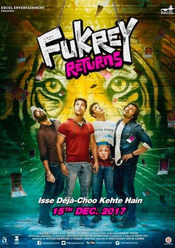 Fukrey Returns 2017 Hindi 300mb Movie Download