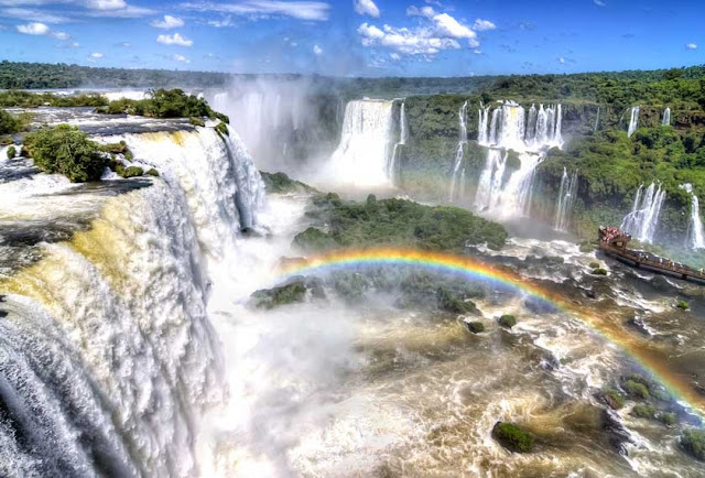 Cataratas do Iguazú na Argentina