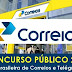 Correios lançam edital de concurso público com 88 vagas na área da saúde e segurança do trabalho