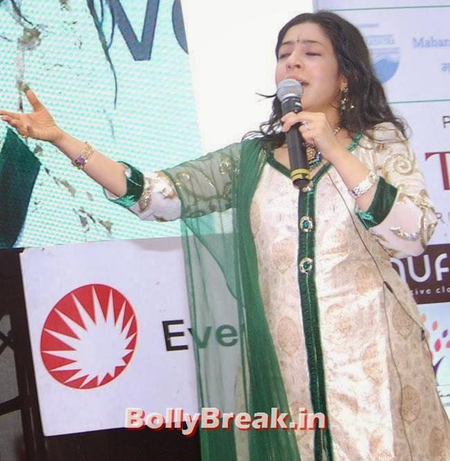 Sanjeevani Bhelande, Dia & Ruby Bhatia at World Environment Day Celebrations 2014