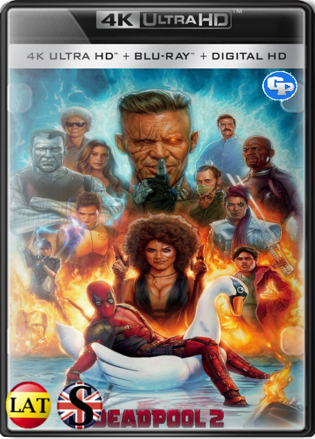 Deadpool 2 (2018) 4K UHD LATINO/INGLES