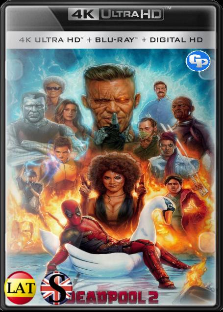 Deadpool 2 (2018) 4K UHD LATINO/INGLES