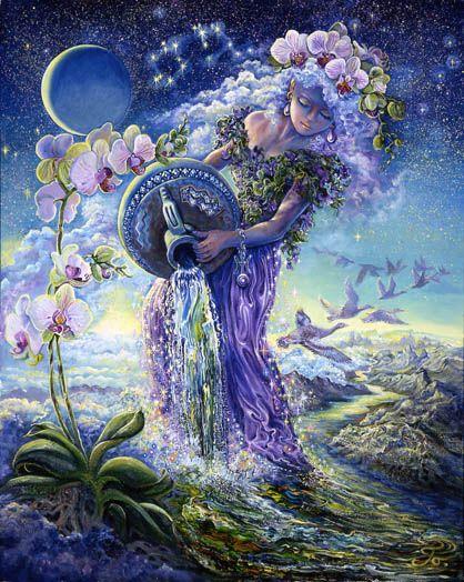 Ảnh đẹp cung Bảo Bình, hình ảnh đẹp về sao Bảo Bình