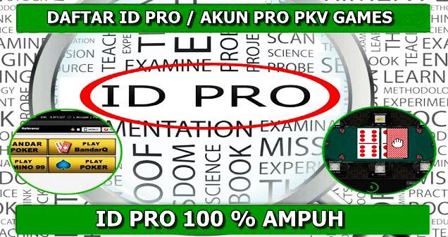 atau yang biasanya disebut dengan akun sakti ini yaitu User ID keberuntungan yang poker  Kode ID Pro | Akun ID Pro | ID Pro Pkv | Cara Daftar ID Pro Pkv Games