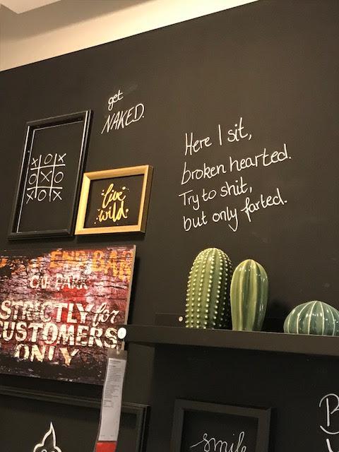 Wochenende in Bildern: IKEA Wanddeko