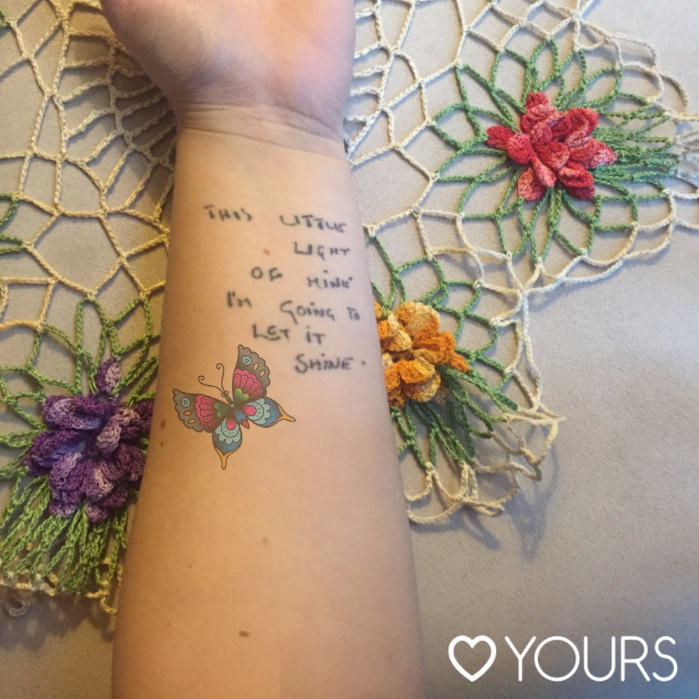 Formidable Joy | Formidable Joy Blog | Test a Tattoo app | Yours Clothing