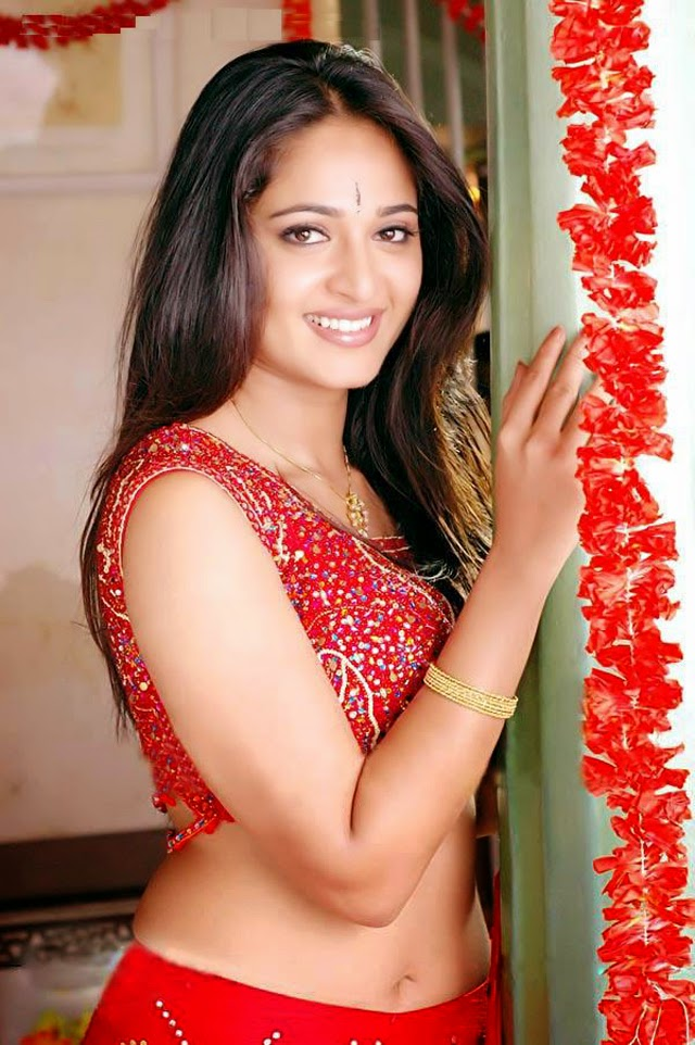 Anushka Shetty Latest Hot Stills In Red Dress