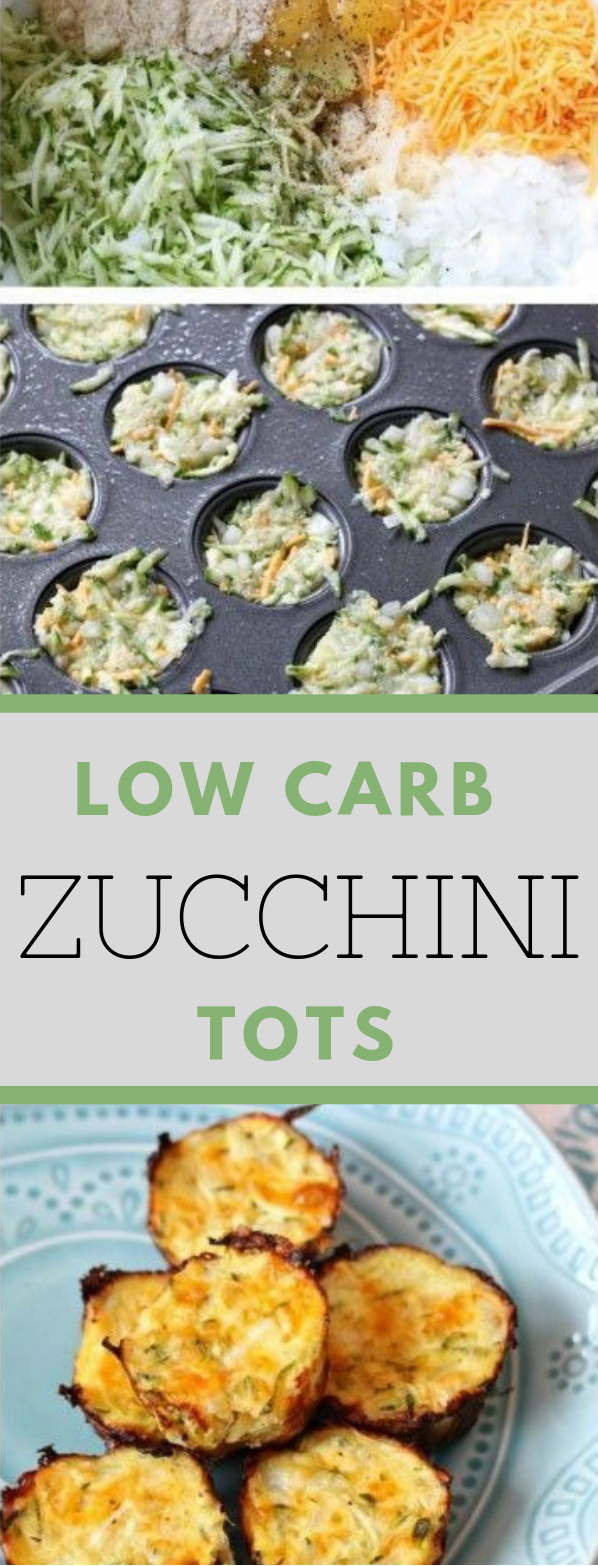Low Carb Zucchini Tots #healthy #familyrecipe