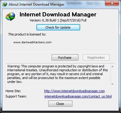 internet download manager registration 2019