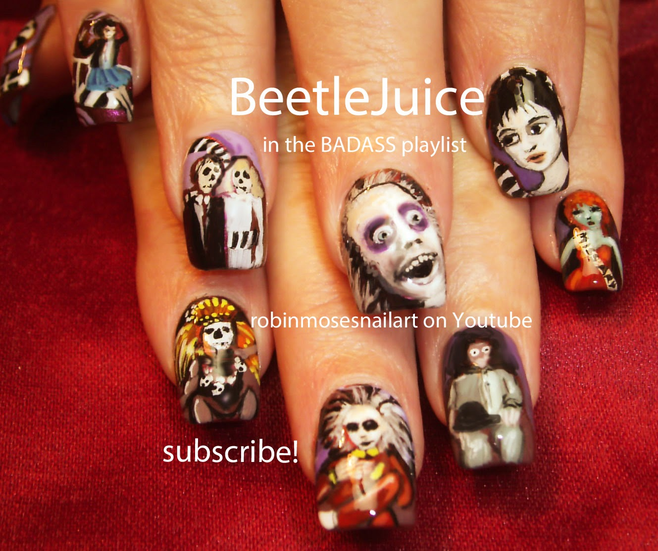 "Nail Art by Robin Moses: ""halloween nails"" ""halloween nail ..."