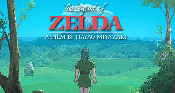 The Legend of Zelda, by Miyazaki