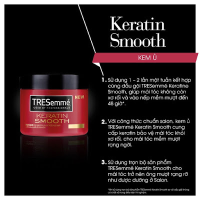 kem u toc tresemme keratin smooth