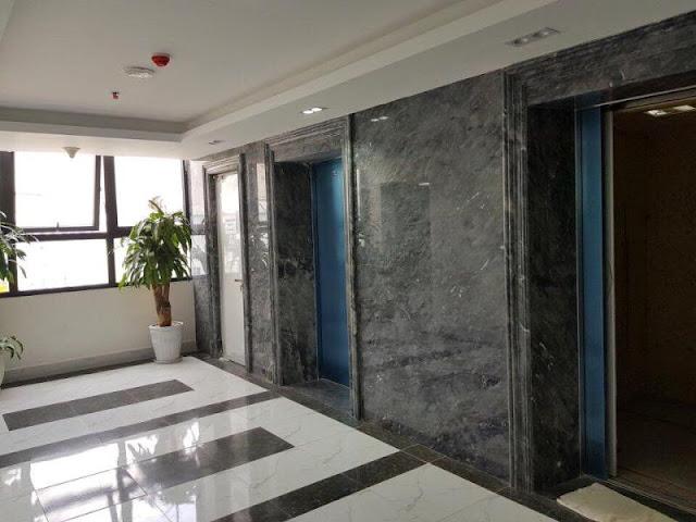 Sảnh căn hộ thực tế tại chung cư Eco City